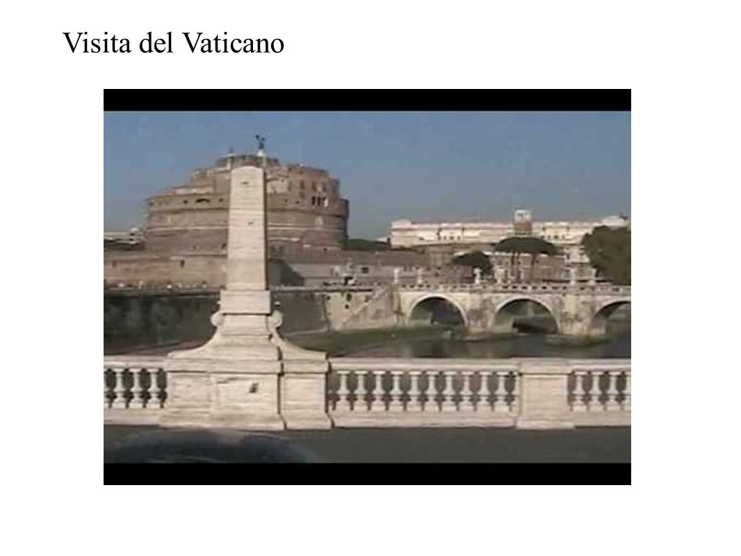 Visita del Vaticano