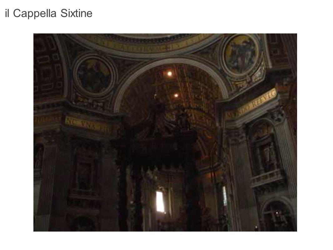 il Cappella Sixtine