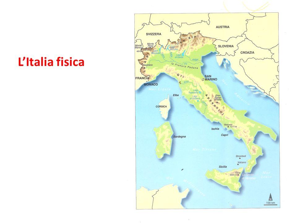 L'Italia fisica