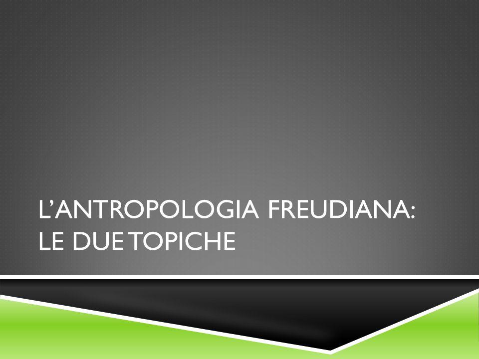 L'antropologia freudiana: le due topiche