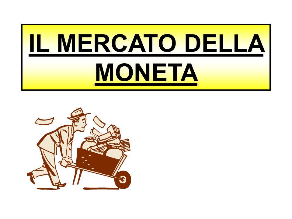 IL MERCATO DELLA MONETA