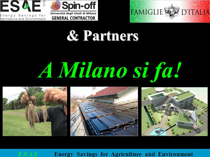 & Partners A Milano si fa!