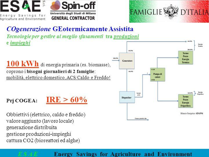 100 kWh di energia primaria (es. biomasse),