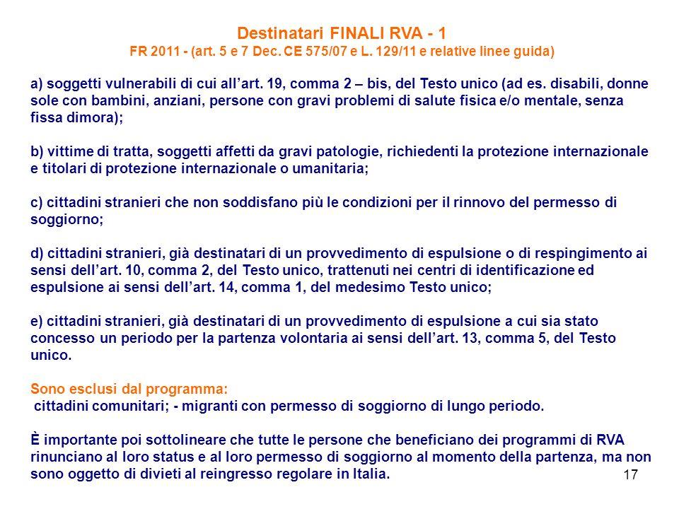 Destinatari FINALI RVA - 1