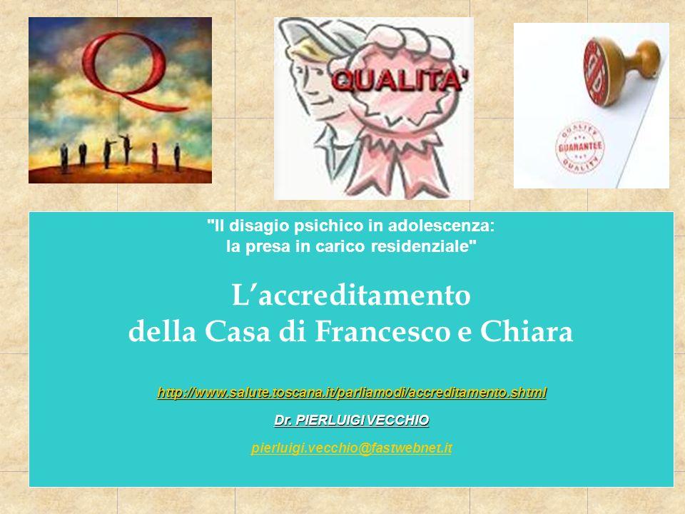 L'accreditamento della Casa di Francesco e Chiara