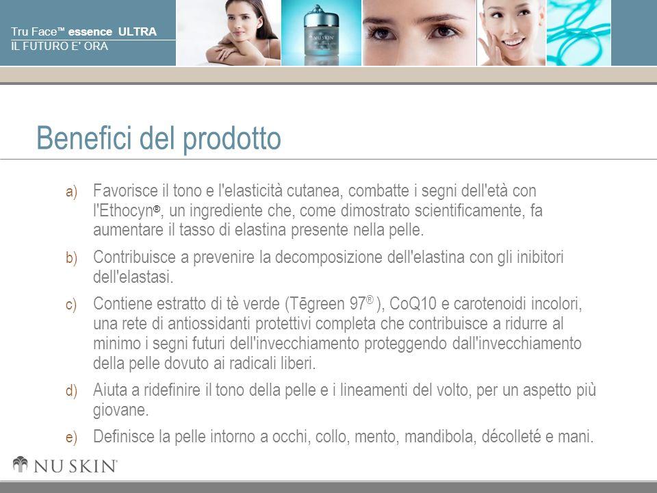Benefici del prodotto
