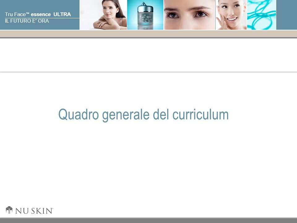 Quadro generale del curriculum