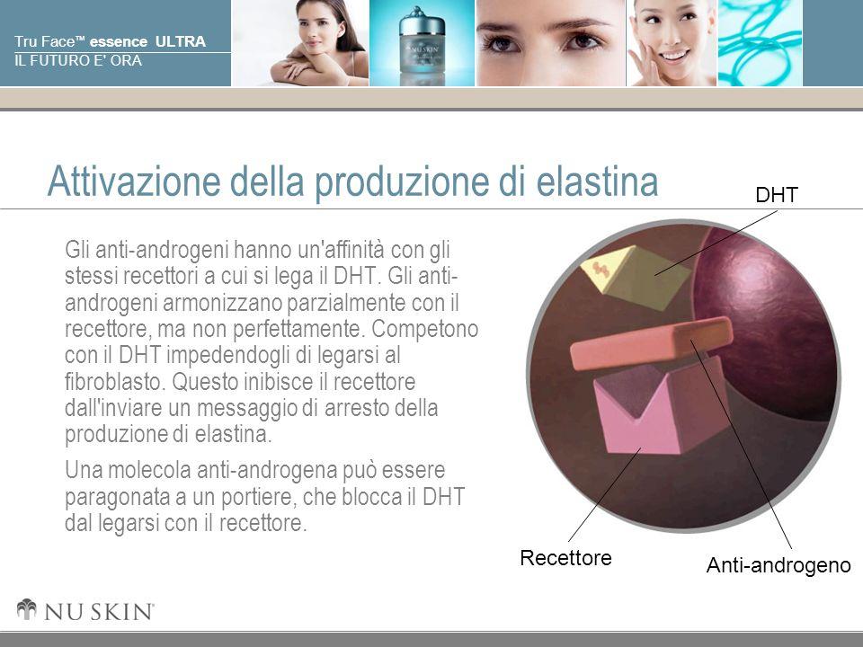 Attivazione della produzione di elastina