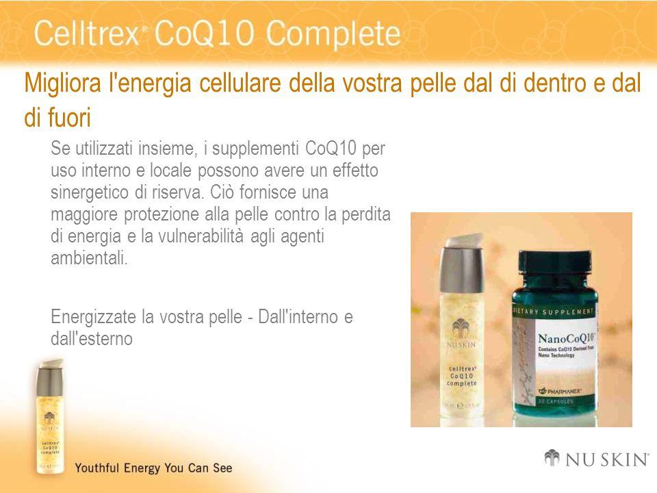 Migliora l energia cellulare della vostra pelle dal di dentro e dal di fuori