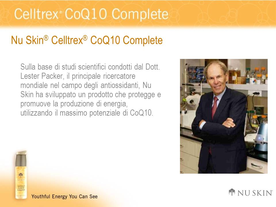 Nu Skin® Celltrex® CoQ10 Complete
