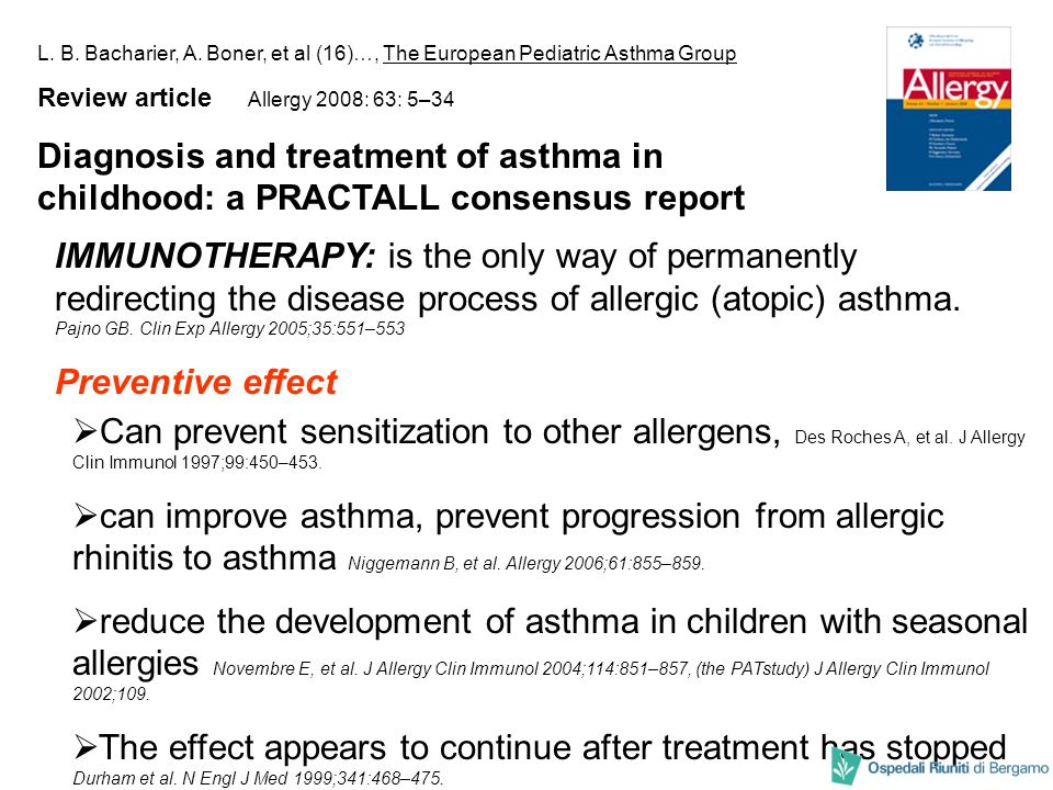 L. B. Bacharier, A. Boner, et al (16)…, The European Pediatric Asthma Group