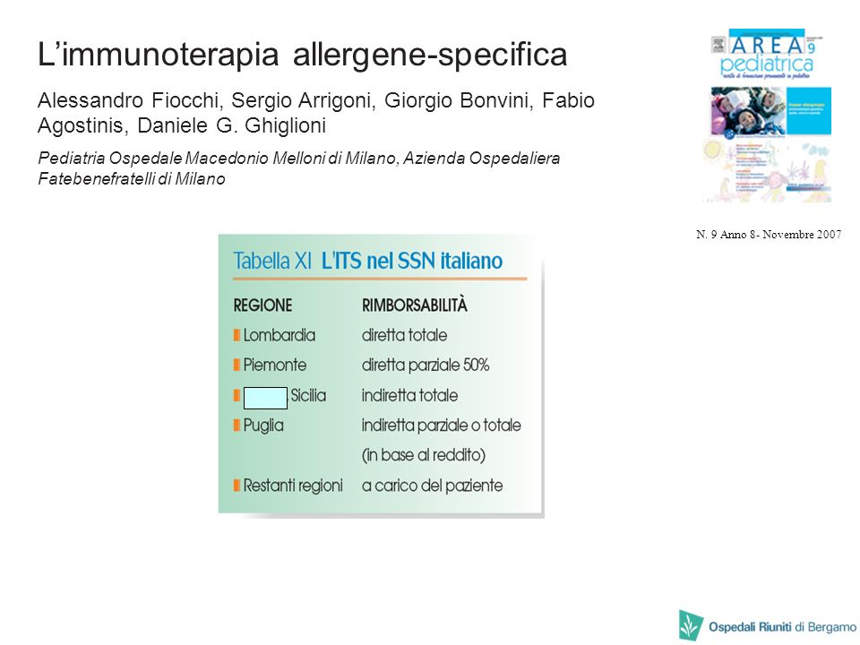 L'immunoterapia allergene-specifica
