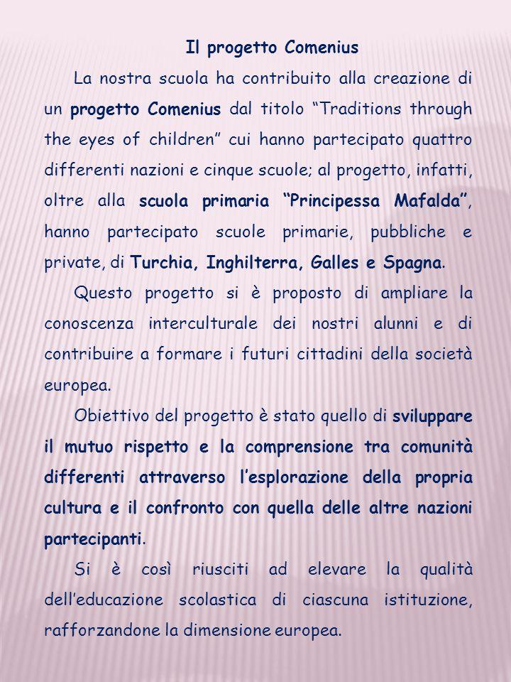 Il progetto Comenius