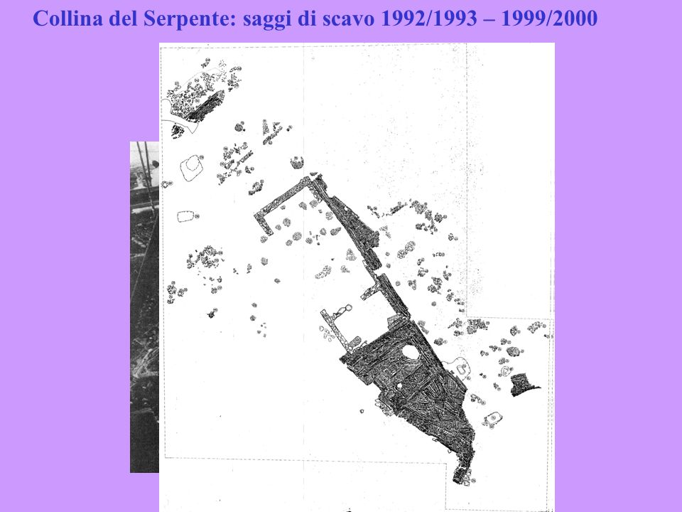 Collina del Serpente: saggi di scavo 1992/1993 – 1999/2000