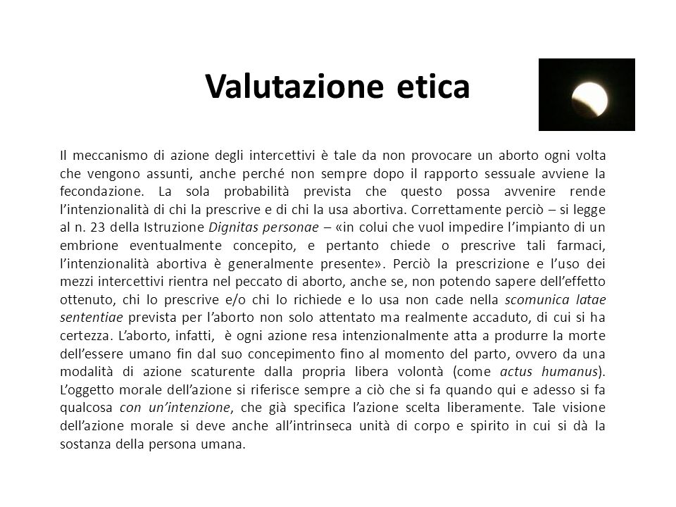 Valutazione etica