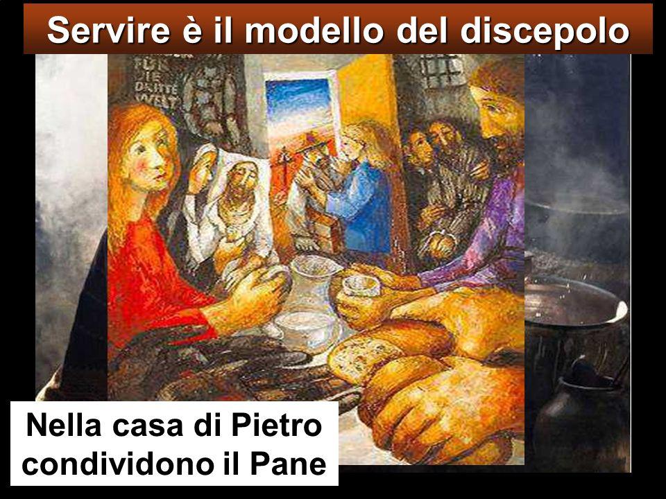 Servire è il modello del discepolo