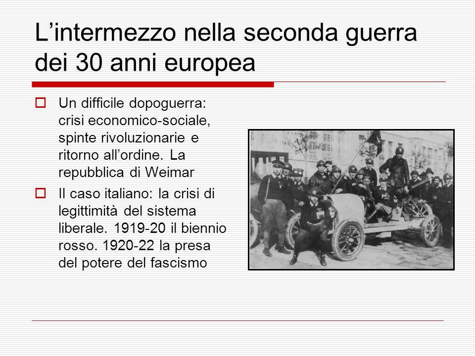 L'intermezzo nella seconda guerra dei 30 anni europea