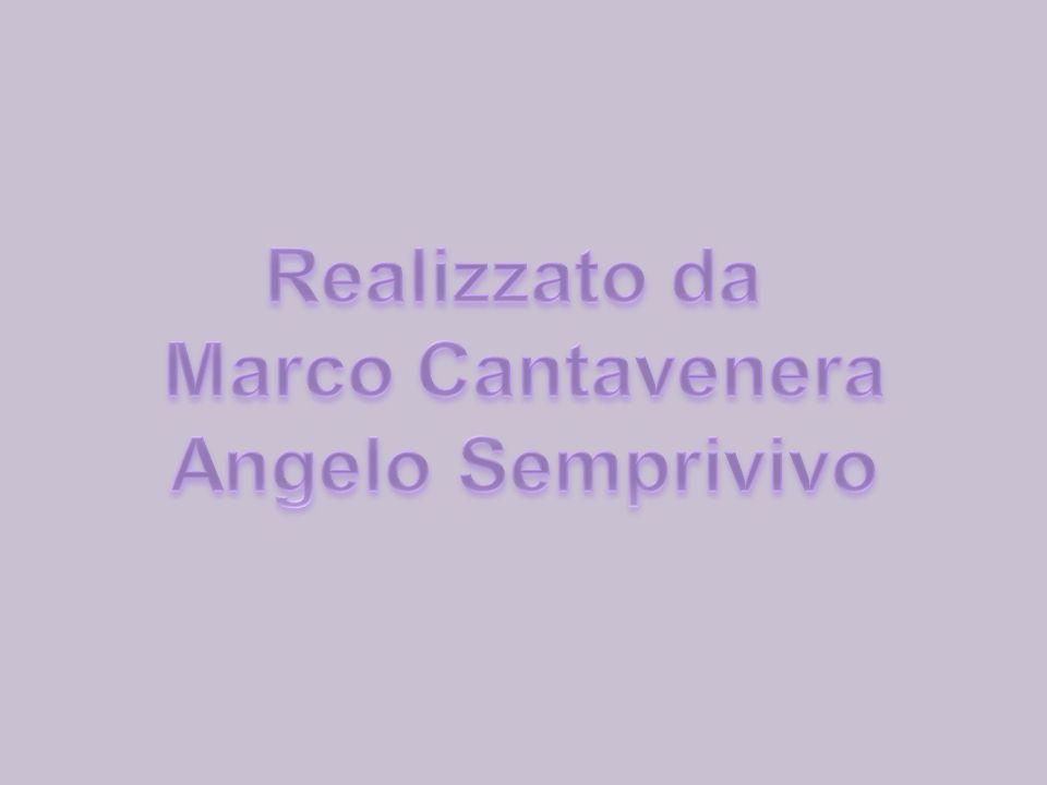 Realizzato da Marco Cantavenera Angelo Semprivivo
