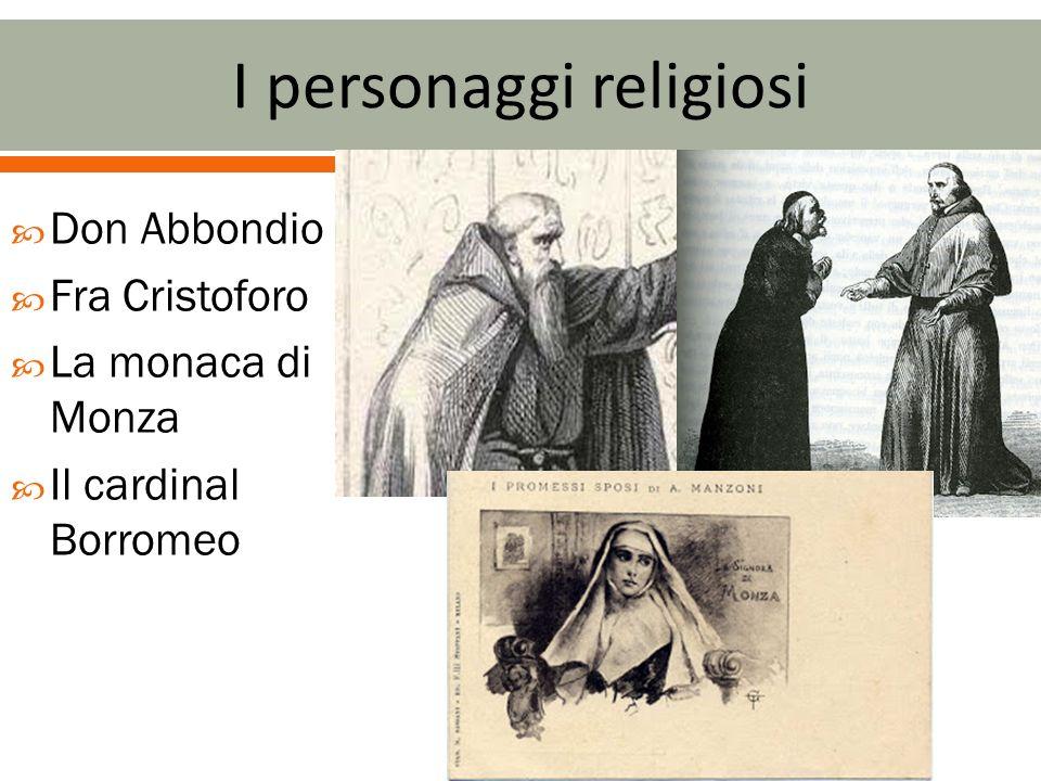 I personaggi religiosi