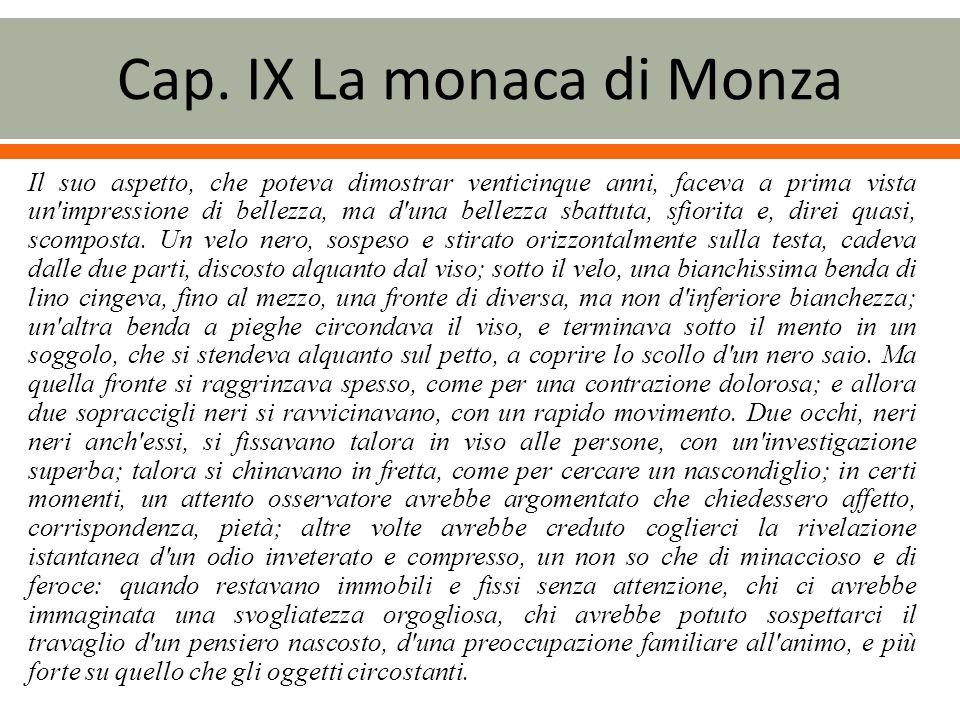 Cap. IX La monaca di Monza