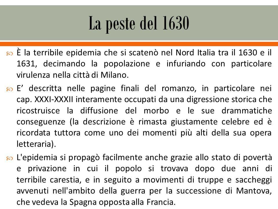 La peste del 1630