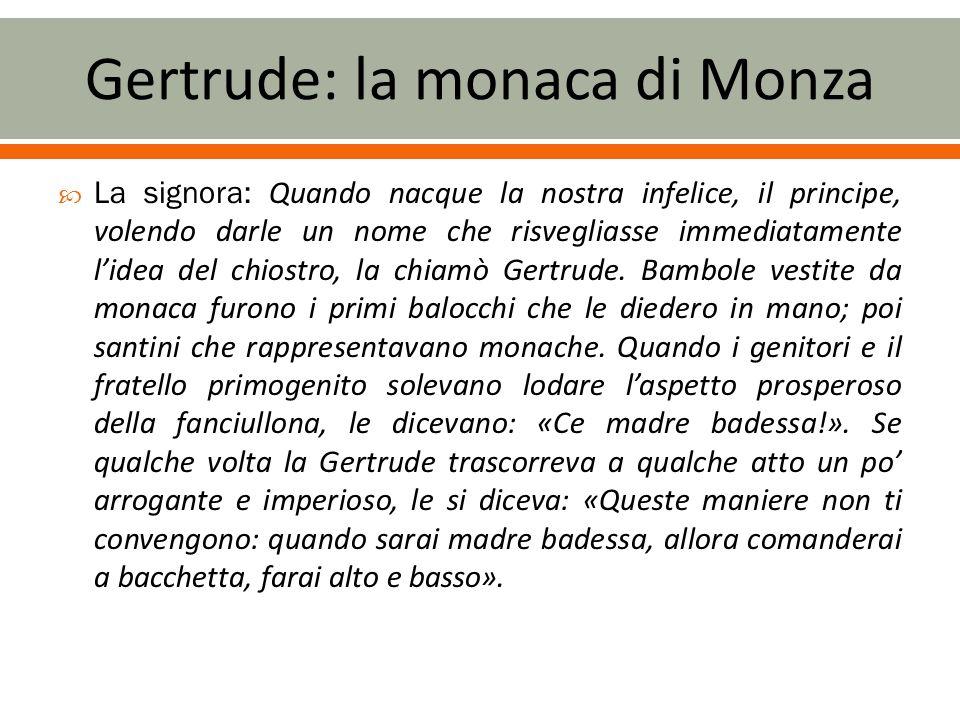 Gertrude: la monaca di Monza