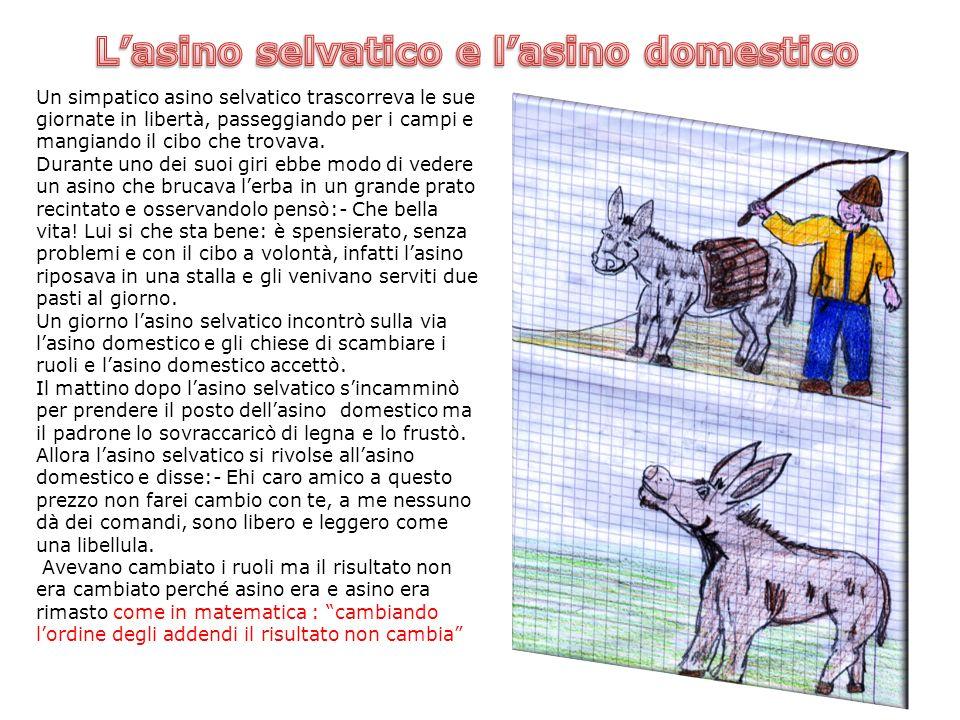 L'asino selvatico e l'asino domestico
