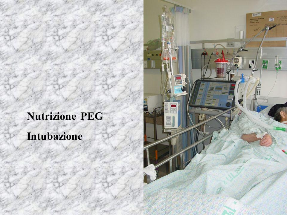 Nutrizione PEG Intubazione