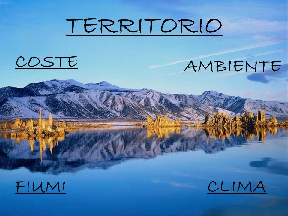TERRITORIO COSTE AMBIENTE FIUMI CLIMA