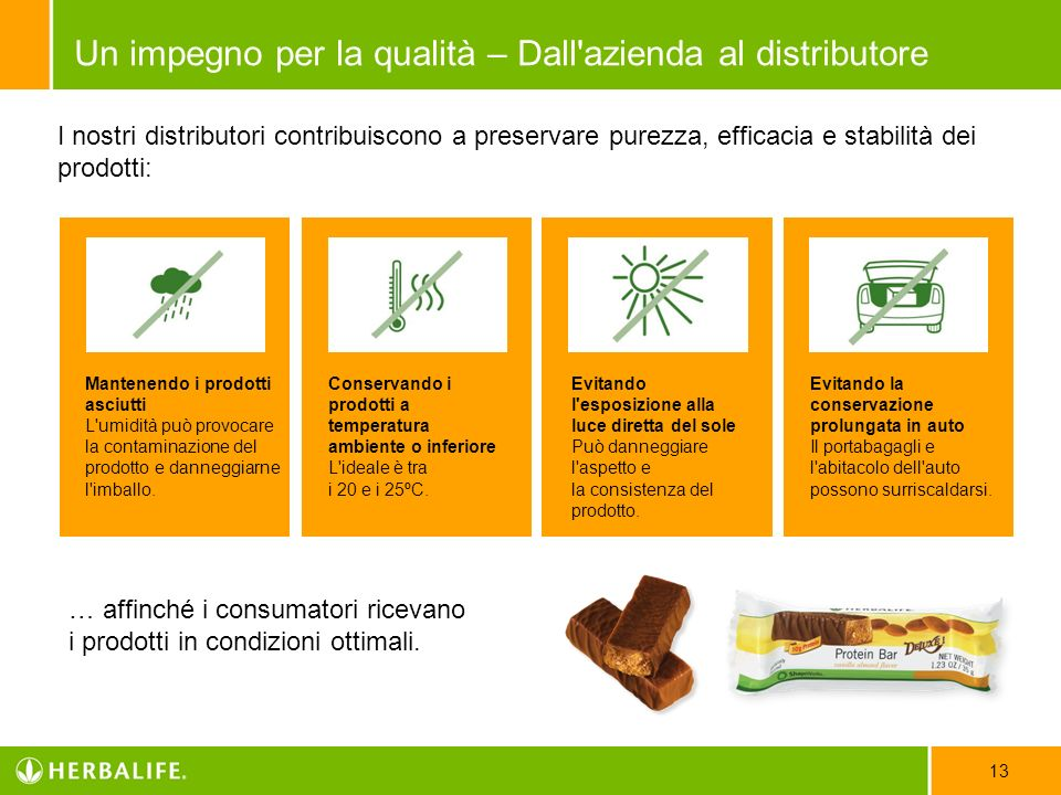 Per maggiori informazioni su Herbalife e la scienza, visita Herbalifescienza.it