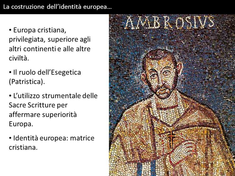 Il ruolo dell'Esegetica (Patristica).