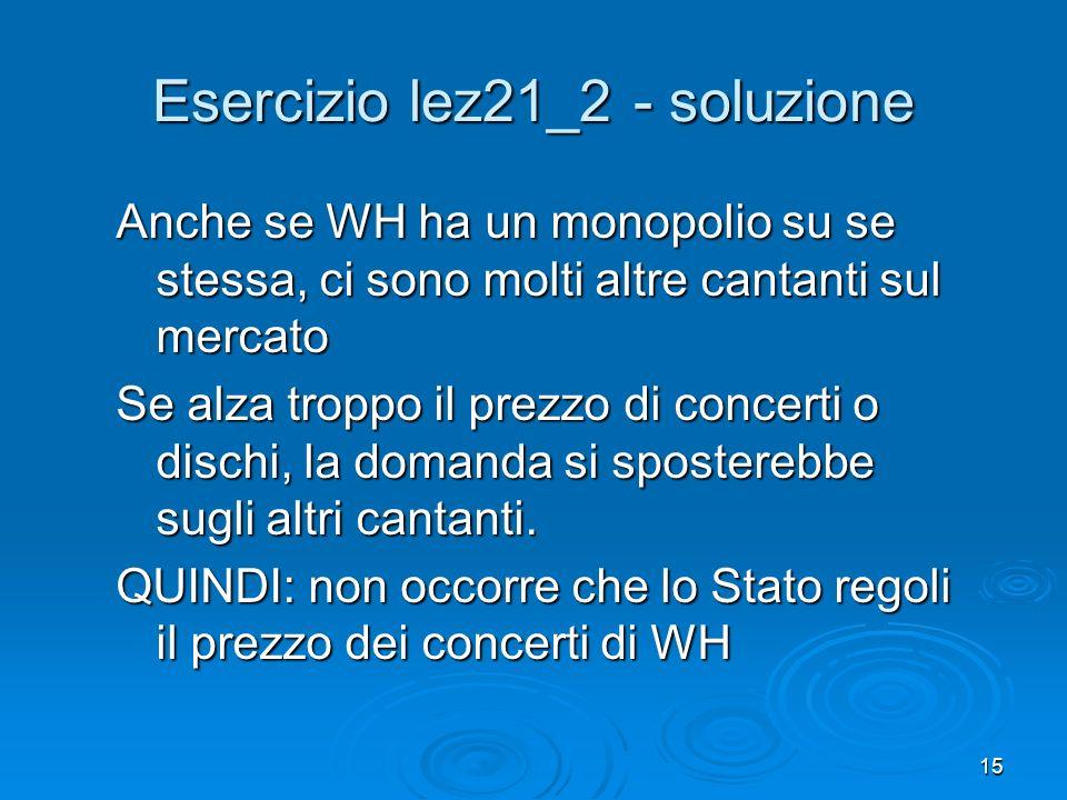 Esercizio lez21_2 - soluzione