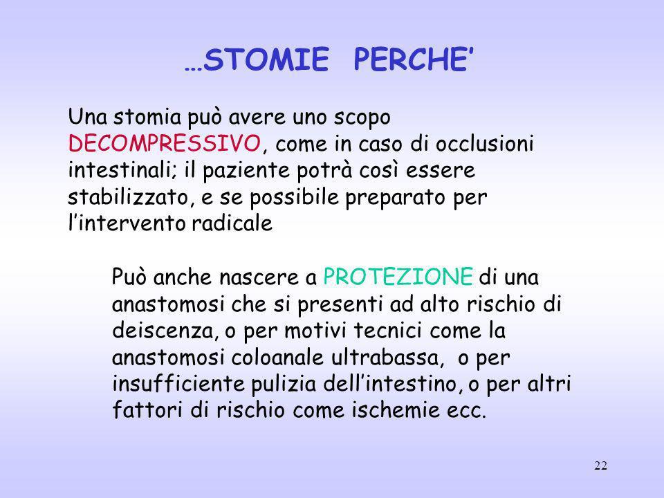 …STOMIE PERCHE'