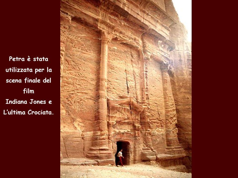 Petra è stata utilizzata per la scena finale del film