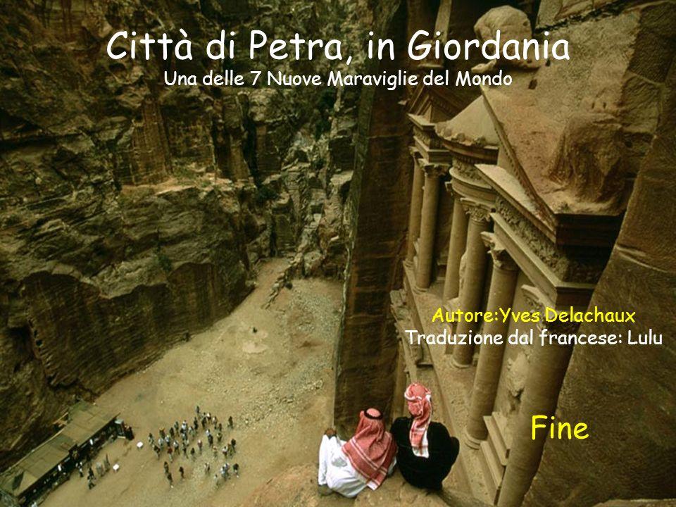 Città di Petra, in Giordania