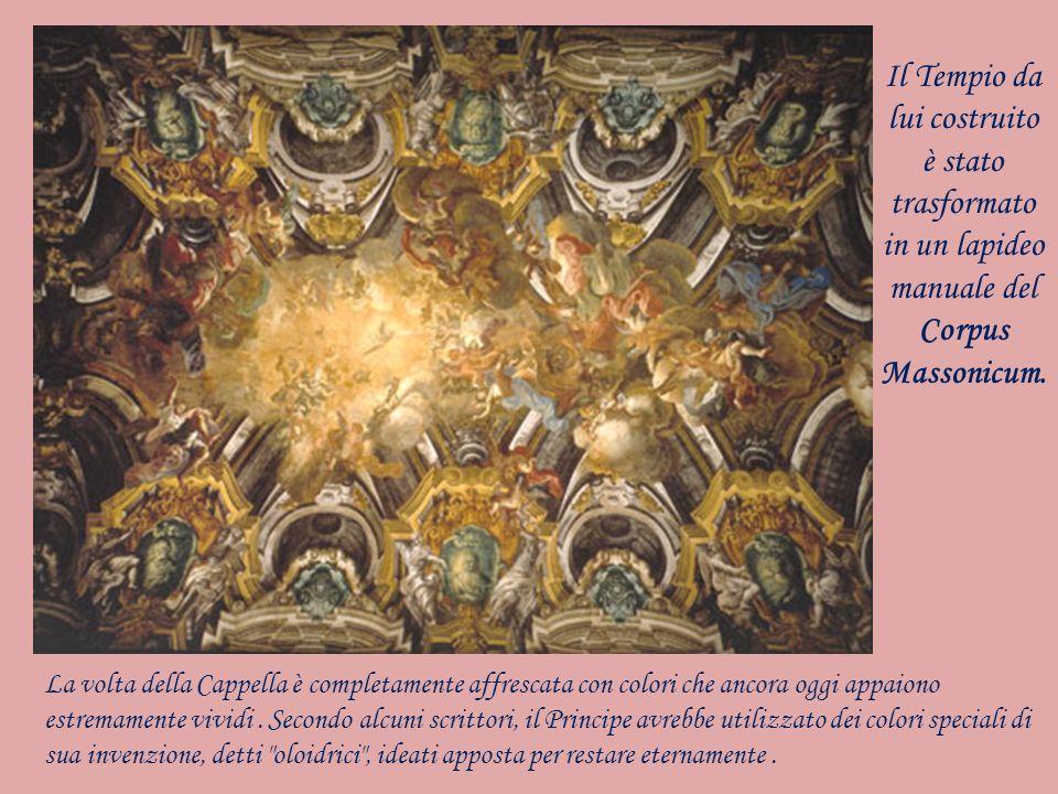 Il Tempio da lui costruito è stato trasformato in un lapideo manuale del Corpus Massonicum.