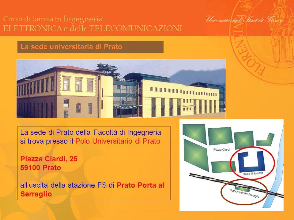 La sede universitaria di Prato