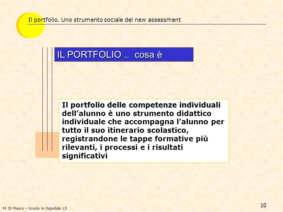 Il portfolio. Uno strumento sociale del new assessment