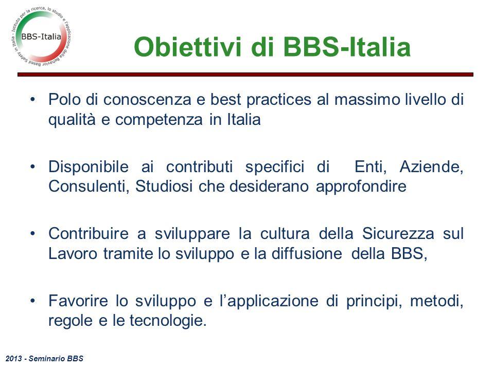 Obiettivi di BBS-Italia