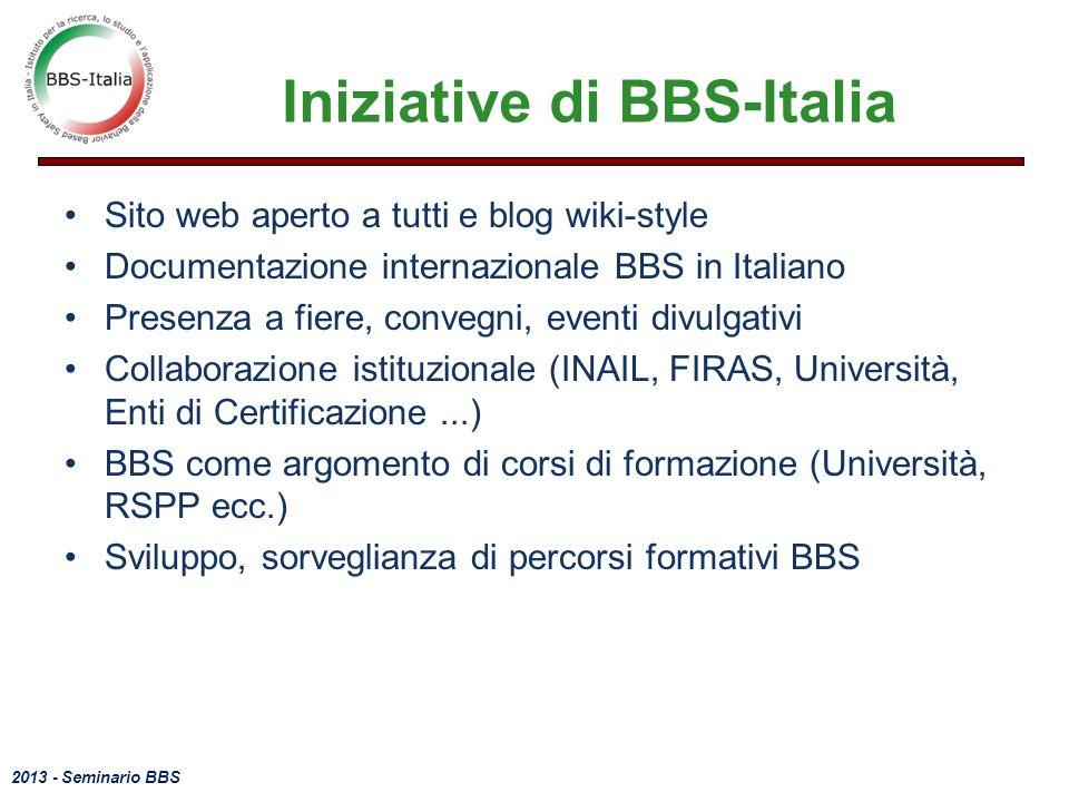 Iniziative di BBS-Italia