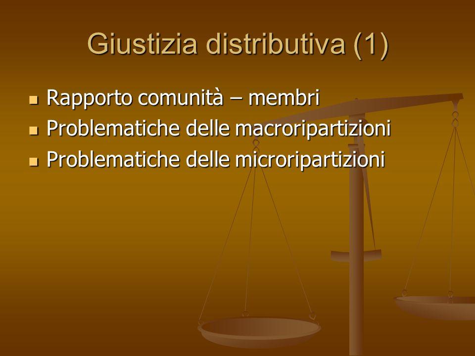 Giustizia distributiva (1)