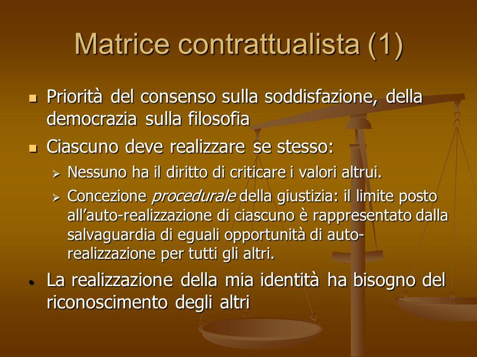 Matrice contrattualista (1)