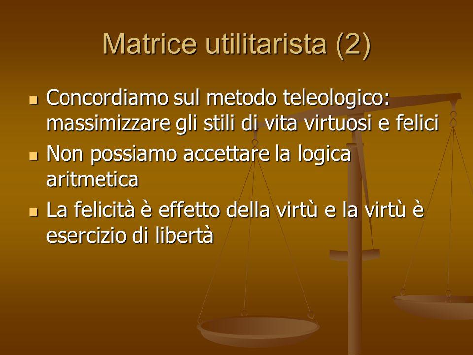 Matrice utilitarista (2)