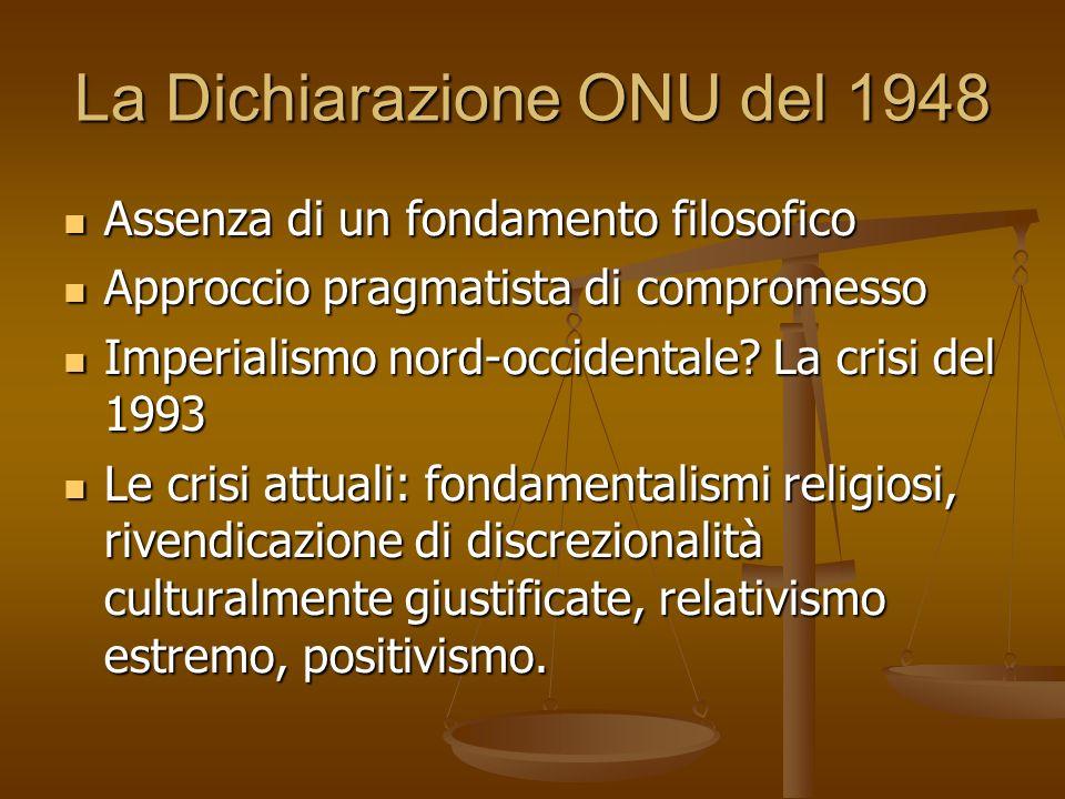 La Dichiarazione ONU del 1948