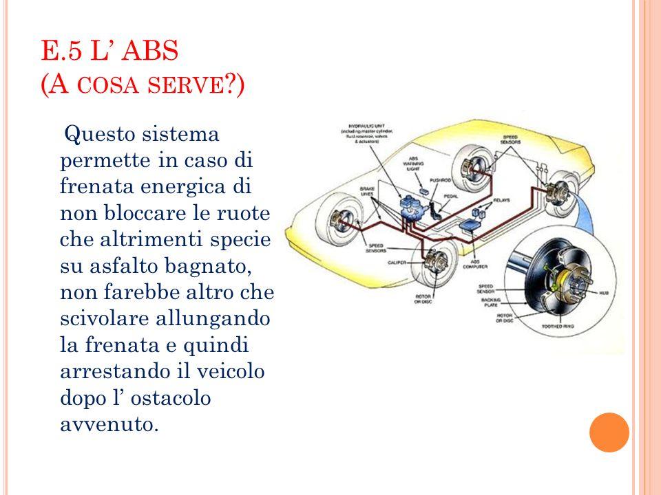 E.5 L' ABS (A cosa serve )