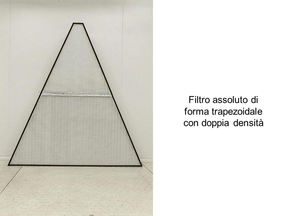 Filtro assoluto di forma trapezoidale con doppia densità