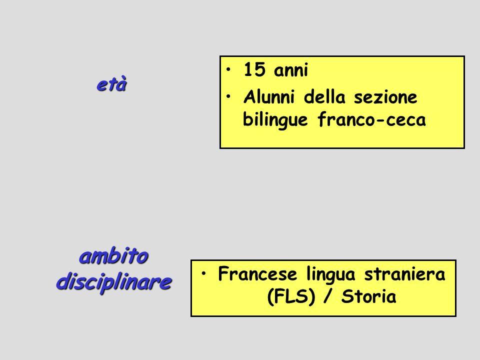 Francese lingua straniera (FLS) / Storia