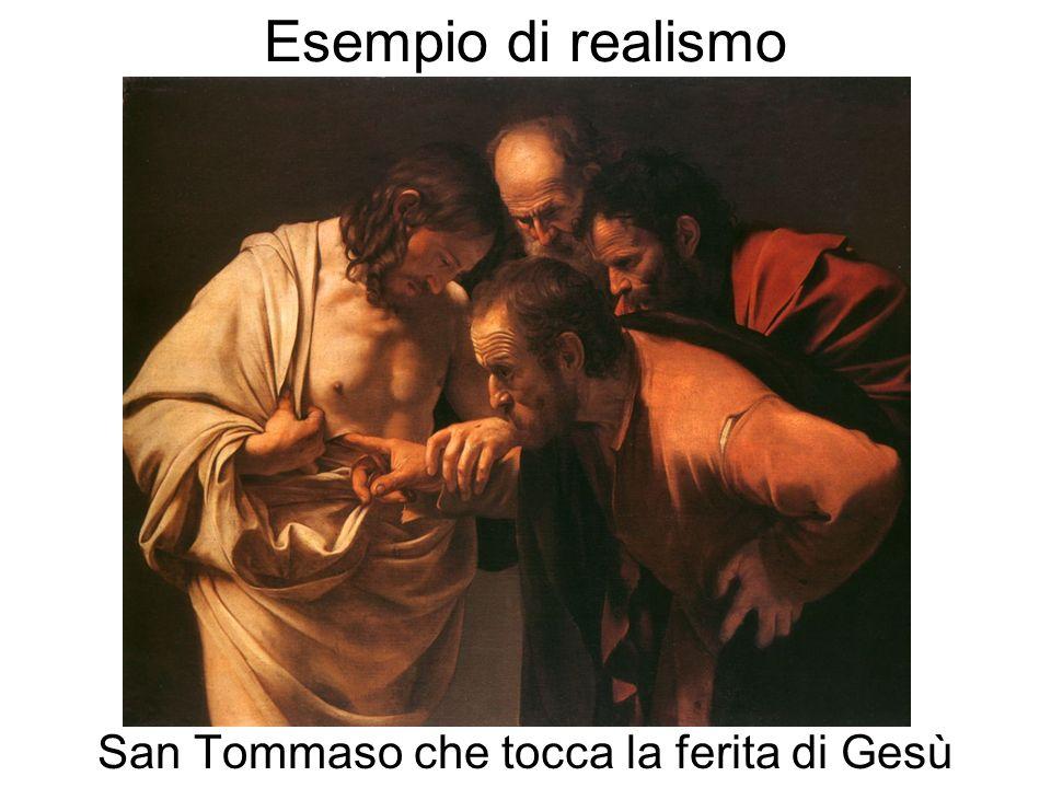 San Tommaso che tocca la ferita di Gesù