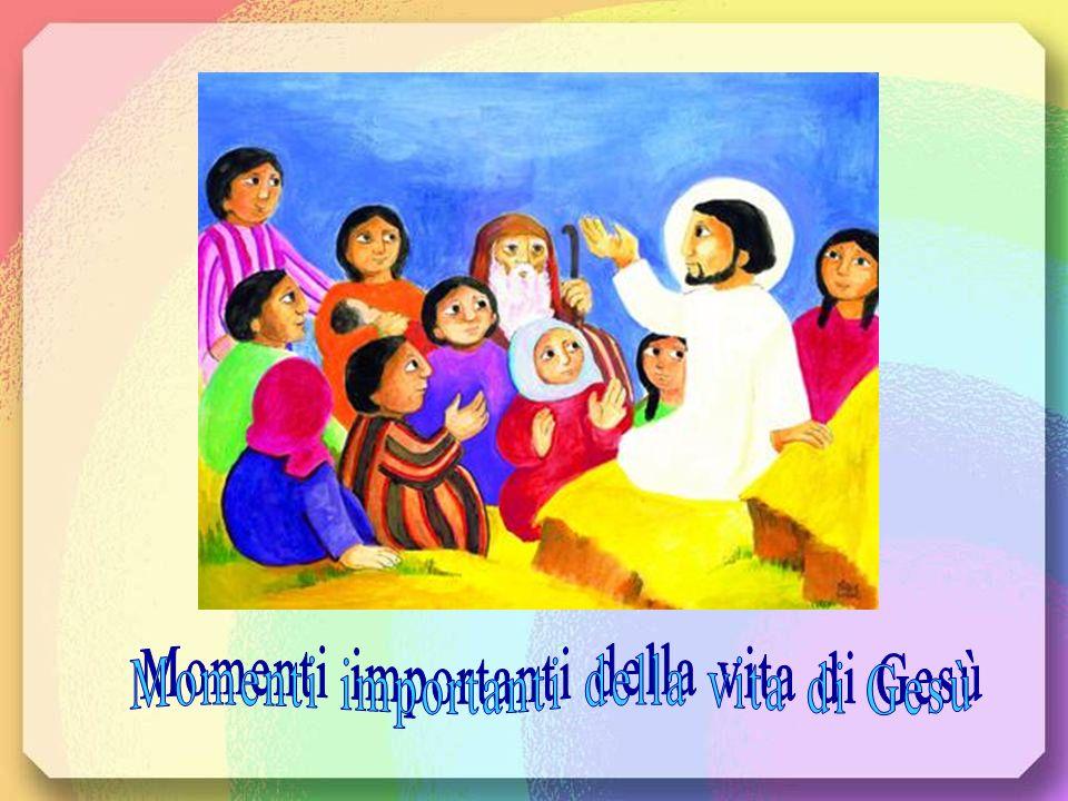 Momenti importanti della vita di Gesù