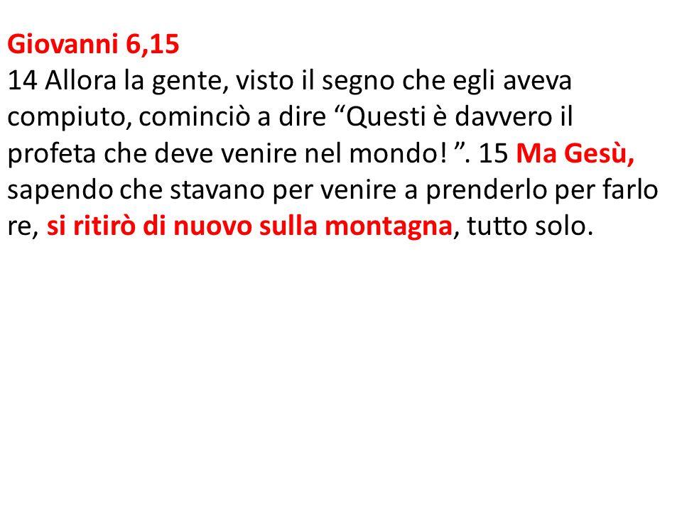 Giovanni 6,15
